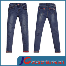 Factory Wholesale Women Casual Denim Pants Jean Trousers (JC1320)