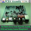 Placa de alimentação de energia montado com dissipador de calor, PCB Mainboard para serviço de montagem de impressora pcb led