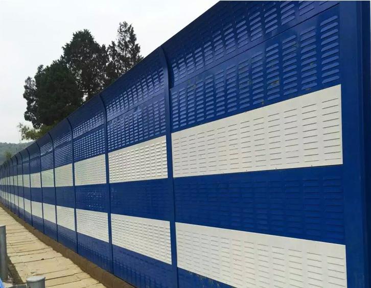 Galvanized Sound Barrier Fence