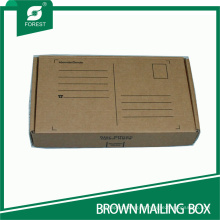 Small Rectangle Kraft Shipping Mailers Carton Box