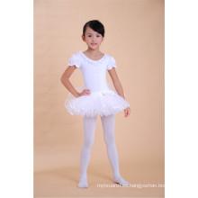 los niños bailan los vestidos del tutú del vestido de ballet hinchado para los niños