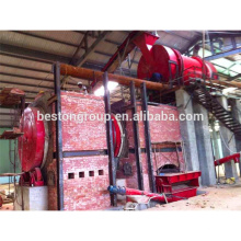 Pollution Free Waste To Energy Power Plant charcoal machine for biomass
