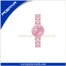 2016 Top Selling Summer Fashion Elegant Gold Pink Steel Watches