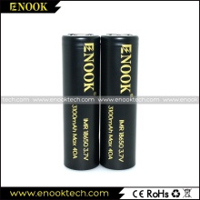 High capacity Enook 18650 3100mah