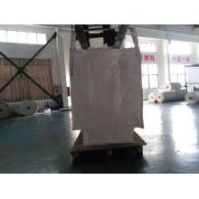 Weiße Knoblauchpackung Große Tasche
