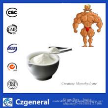 Suplemento de alta calidad CAS 6020-87-7 del polvo del monohidrato de la creatina