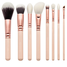 Brosse de maquillage de luxe 8PCS Rose Golden (TOOL-80)