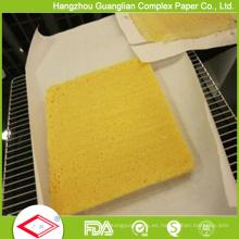 Pre corte 2 lados de papel de hornear de silicona 40cmx60cm en caja