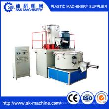 Unidade de mistura plástica com mistura quente e mistura fresca