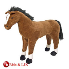 Meet EN71 and ASTM standard plush toy horse stuffed animal toy