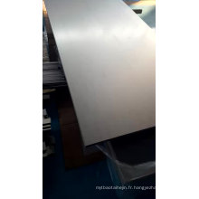 Plaque en tôle de titane 3mm d'épaisseur