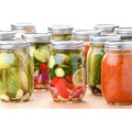 16oz Glass Pickle Jars for Food, Jam, Honey