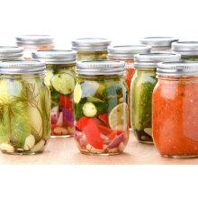 16oz Glas Essiggurken für Lebensmittel, Marmelade, Honig