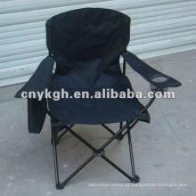 cadeira de praia com saco térmico