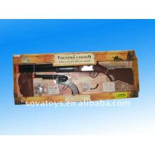 Plus de jeux pour enfants, jouets à cow-boy, double pistolets avec étui