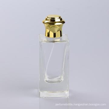 Production Assessment Supplier 100ml Empty Glass Perfume Bottles