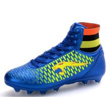 Hightop Men Sports Outdoor Soccer Shoes