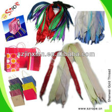 Carry bag rope,paper bag rope,shopping bags handle rope
