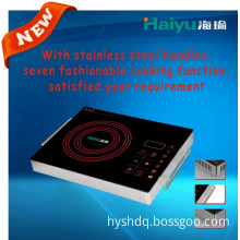 Electric Infrared Cooker New Design in 2014 with All Stainless Steel Profile