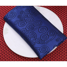 Hot Sales Polyester Satin Hotel Custom Servietten