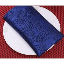 Serviettes personnalisées en polyester satiné à chaud
