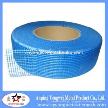 YW - 3cm * 45m 75G / M2 Alkali Fibra de Vidro Resistente Fita de malha