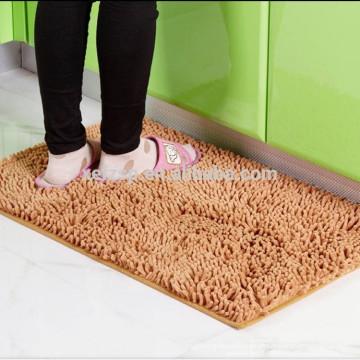 esteira de porta da limpeza da sapata do chenille do microfiber