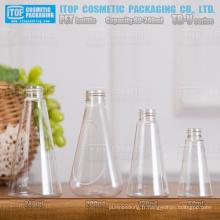 Forme de cône TB-V Series 60ml 120ml 200ml 240ml couleur injection bouteilles pet taille cou standard universel de bonne qualité