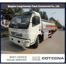 Camión del tanque de combustible de la aleación de aluminio 22500L para la entrega del aceite diesel
