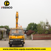 Telescopic Boom Truck Crane with 12 Tons Capacity