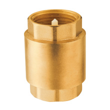 Forged brass spring check valve brass valve