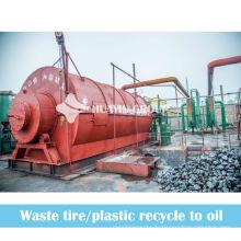 Abfall-Reifen-Öl-Pyrolyse-Anlage