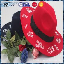 Fábrica populares de diseño especial de vacaciones de venta de sombreros de las mujeres para la promoción