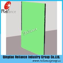 6 мм темно-зеленый Флоат-стекла, используемого для строительства