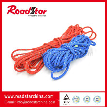 High Quality Customized Polyester Round Reflective Lanyard