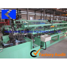 "hot galvanized 2""chain link fence/cyclone wire mesh making machine(manufacture)"