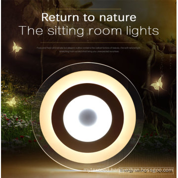 Modern Ultra Slim Round Crystal LED Lighting with Ce RoHS