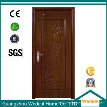 Puerta interior de chapa de madera MDF con varias opciones de chapa