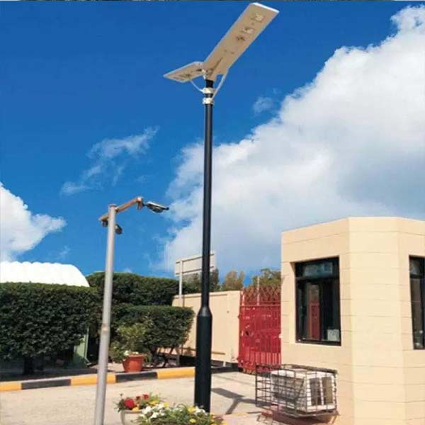 2017 new products China factory best price 60w solar all in one street light