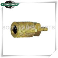 Acoplador rápido de acoplamiento de latón / acero