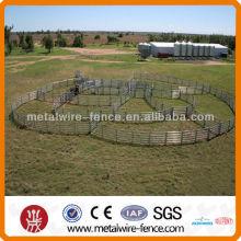 Painel de quintal de gado de aço