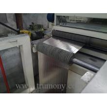 Feuille en aluminium gaufré / feuille pour réfrigérateur