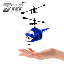 DWI Mini Infrared inductive helicopter with Flashing Light