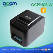 Imprimante thermique à grande vitesse de reçu automatique de 80mm WIFI de coupeur (OCPP-808-W)