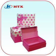 Hot Promotion Gift Box with Ribbon for Gift
