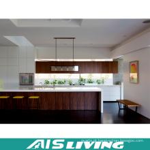Móveis de armários de cozinha folheado (AIS-K307)