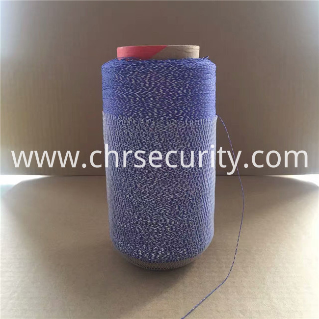 0.375blue reflective embroidery thread1242