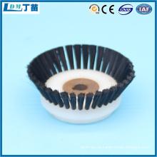 escova rotativa de polimento de náilon para remoção de cavacos