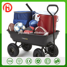 Heavy Duty Garden Dump tool Cart , handling dump tools , hand dump carts