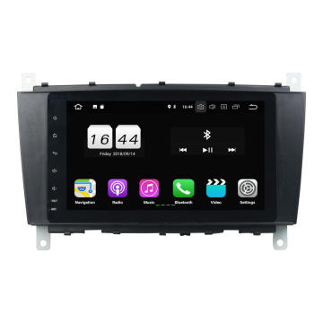 quad core car entertainment voor W203